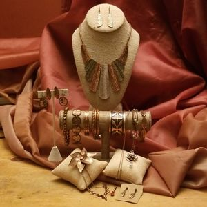 Gorgeous 15 Item Copper Jewelry Bundle for Holiday